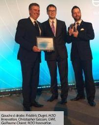 Le prix «Water Technology Company of the Year» va à H2O Innovation, de Québec