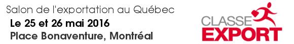 Le retour de Classe Export confirme le regain pour l'exportation au Québec