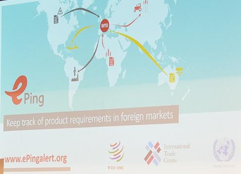 """Promouvoir le commerce: ONU, OMC, ITC vous offrent le système """" ePing """" d'alerte mondiale"""
