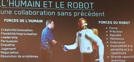 Humain vs robot: deux c.v. bien différents