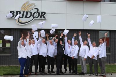 Bridor ajoute 200 millions $ sur cinq ans d'investissement dans ses sites nord-américains à Boucherville et Vineland